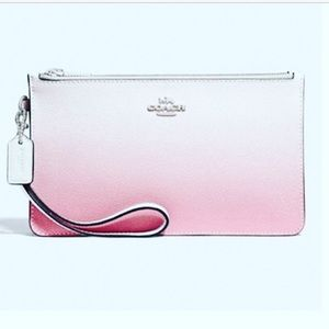 New Coach Ombre Crosby Clutch